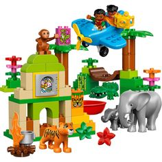 Video Review for LEGO DUPLO Town Jungle (10804)