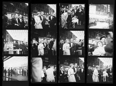 Vivian Maier contact sheet | Kirk Douglas at the premiere of the movie Spartacus in Chicago, IL. October 13, 1960 | VM1960W02526