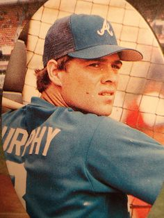 Dale Murphy. When baseball was baseball. What amazing memories. I loved the Braves back in these days.