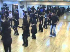 Cherry Blossom Cha Cha - Line Dance (Demo & Walk Through) - YouTube
