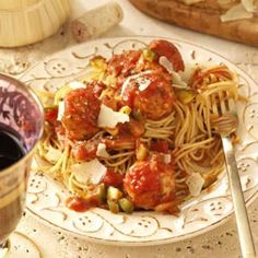 Turkey Meatballs and Sauce...fresh veggies in the sauce - healthy alternative and good!!
