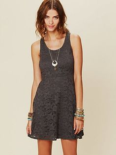 Kristal's Lace Fit and Flare Dress  http://www.freepeople.com/whats-new/kristals-lace-fit-and-flare-dress/