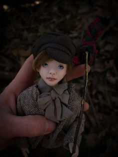 Oliver was sculpted of polymer clay with strong steel armature inside. All clothes (two sets) were sewed by the hand of cotton,linen and silk fabrics, shoes were sewed of real leather, hair was made of mohair. Ooak Dolls, Art Dolls, Oliver Twist, Boys Who, Silk Fabric, Cotton Linen, Real Leather, Sculpting, Romantic