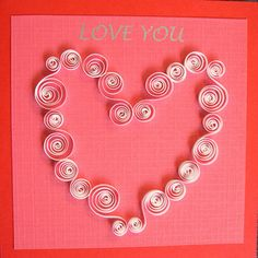 Super cute quilling project soo wanna try this!