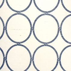 Phillip Jeffries Bohemian Bangles Navy Wallpaper