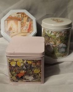 Brambly Hedge LOT OF 3 Collectible Tins Summer Autumn Winter 2000 | eBay