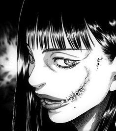 Manga Art, Manga Anime, Anime Art, Japanese Horror, Japanese Art, Anime Faces Expressions, Emo Anime Girl, Emo Wallpaper, Dark Art Illustrations