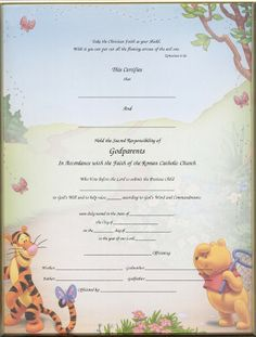 Baptism Certificates Free  Certificate Of Baptism  Certificates