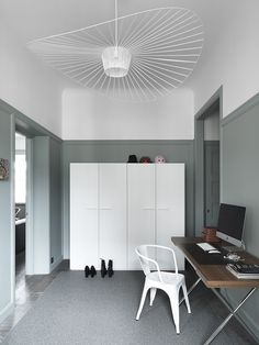 """The Vertigo lamp, designed by Constance Guisset in 2010,is one of my favorites lately. Defined as an """"enveloping lamp that creates a space of intimacy"""", it's ethereal and simple d…"""
