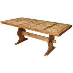 Me wants!!! - *A.                                Trestle Dining Table