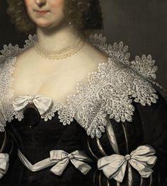 Hester Bowyer by Cornelis van Renaissance Paintings, Detail Art, Bustier, Historical Costume, Antique Art, Hui, 17th Century, Baroque, Fashion Art