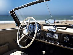 190SL on the beach