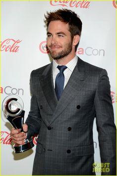 Chris Pine CinemaCon Awards