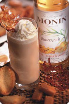 Butterscotch Monin syrup