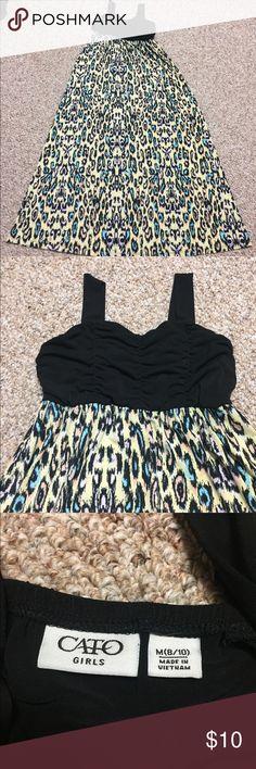 Girls sun dress size M 8/10 Adorable sun dress size M 8/10. Dresses