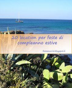 20 location per feste di compleanno estive - Blog Feste e Sorrisi