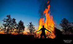Juhannus 2013. Every Midsummer in Finland, across the country bonfires are lit and parties are held.