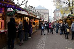 Simply wandering around Strasbourg's ten markets is fun in and of itself. Photo © 2013 Aaron Saunders