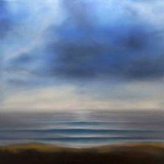 "Saatchi Art Artist Gennaro Santaniello; Painting, ""Memories: waterfront waiting"" #art"
