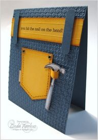 Father's Day with a Hammer As father's day card go, I think this one is perfect for those daddy with a long list of honeydos... I o...