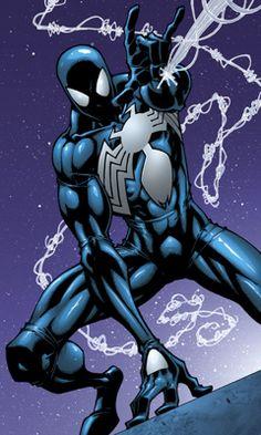 lightening black & blue.  Forum cosplay