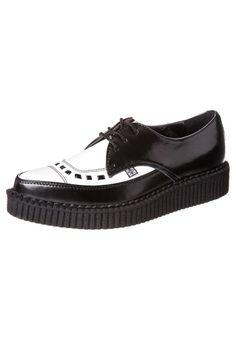 T.U.K - Chaussures à lacets - noir
