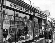 The front of Gordon E. Cirel Ltd shop, Wellfield Road, Roath, Cardiff, 1966 Chelsea Girls, Cardiff City, Wales, In The Heights, Past, Street View, Shop, Pictures, Photos