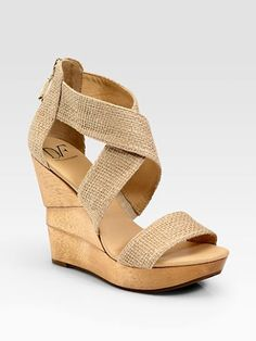 on sale! $156.45. Awesome summer wedge! Parham Collection   StyleOwner.com