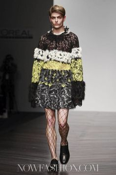 Elena Crehan at Central Saint Martins MA - RtW Fall Winter 2013 London