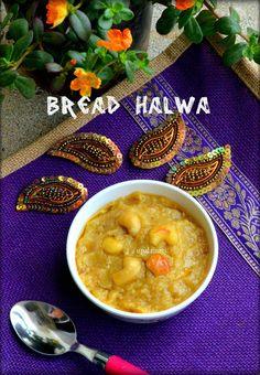Easy Wheat Bread Halwa