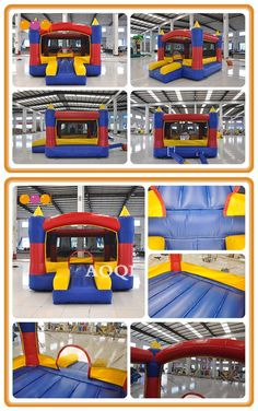 Inflatable castle bouncer is a great, safe place for kids to bounce and play! So joyous and carefree. Inflatable Bouncers, Safe Place, Things That Bounce, Castle, Play, Fun, Kids, Design, Young Children