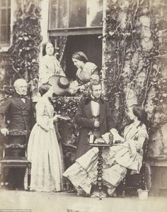 Victorian photographer Emma Johnston is all but forgotten now but her work documenting the Hampstead middle-classes from 1858 to 1864 will be sold at auction la