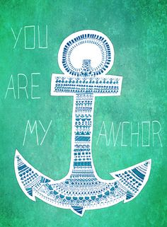ANCHOR PATTERN Art Print