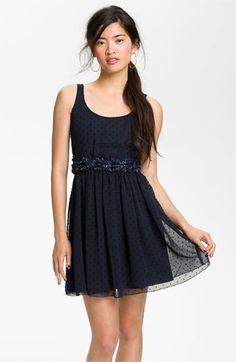 Jump Apparel Sweet Swiss Dot Dress (Juniors) available at #Nordstrom