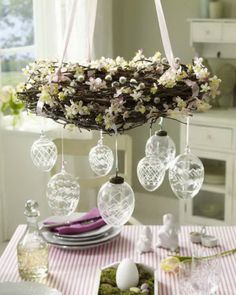 Crystal Egg Ornaments