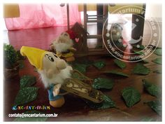 Encantarium Festas: Branca de Neve para Gabi