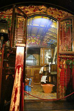 Caravan Gypsy Vardo Wagon: Inside a wagon. Glamping, Gypsy Life, Gypsy Soul, Boho Hippie, Boho Gypsy, Bohemian Style, Gypsy Decor, Bohemian Lifestyle, Gypsy Caravan Interiors