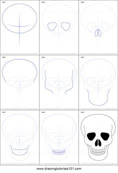 11 Best Skull Images Drawings Drawing Ideas Ideas For Drawing