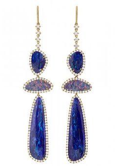 Signature Triple Drop Earring | Shawn Warren Jewelry - Desginer Jewelry - Gold Jewelry