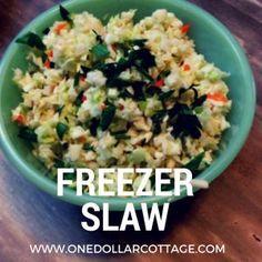 Freezer Slaw