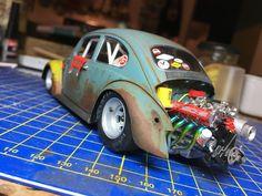 Rc Cars And Trucks, Custom Hot Wheels, Plastic Model Cars, Model Cars Kits, Top Cars, Vw T1, Drag Cars, Vw Beetles, Courses