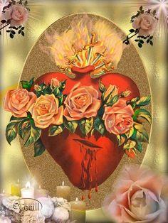 sagrado corazon de jesus y inmaculado corazon - Buscar con Google