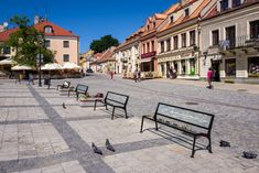 15 glass benches made of Pilkington Glass were unveiled on the market square of the Old Town in . Pilkington Glass, Old Town, Benches, Poland, Old Things, Sidewalk, Patio, Outdoor Decor, Home Decor