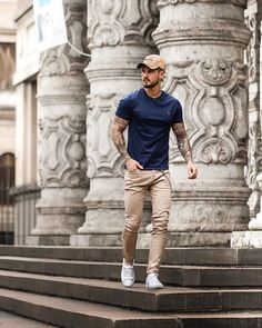 Cool Outfits For Teenage Guys, Cool Summer Outfits, Outfit Summer, Chinos Men Outfit, Outfit Jeans, Shirt Outfit, Stylish Mens Outfits, Casual Outfits, Men Casual