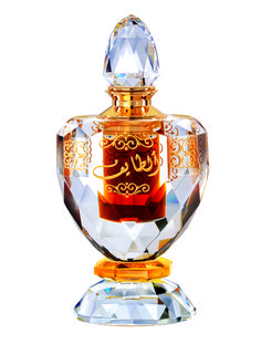 Al Taif: (Unisex)  Quantity- 15ml  This exotic oriental perfume captures the romance and magix of the Arabian sands. The splendor and floral beginning from exclusive notes based on rose is meant to captivate and energize the wearer.  The fashionable crystal bottle with its fine cuts creates an image of luxury and style and radiates the color of topaz. The exquisite outer packaging appeals to a person with sophisticated tastes.  Olfactory description:  Floral – Rose