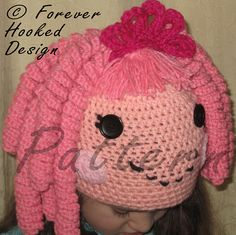 Ravelry: Lalaloopsy Jewel Inspired Hat pattern by Jewels' Forever Hooked Designs