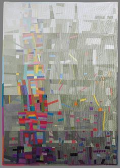 """""""La Torre de Babel"""" quilt by the uber-talented Cecilia Koppmann. I am in awe of this quilt!"""