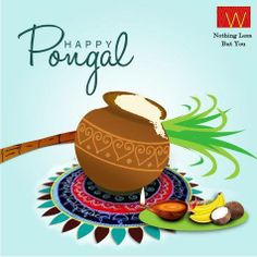 Pongal Wishing that this brings good luck and Have a splendid Happy Pongal Wishes, Happy Diwali, Beautiful Rangoli Designs, Kolam Designs, Happy New Year 2019, New Year Wishes, How To Earn Money For Teens, Thai Pongal, Independent House