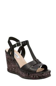 28f8bd041714 Clarks® Adesha River Wedge Sandal (Women) Clarks Sandals