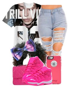 """Pinkk"" by clinne345 ❤ liked on Polyvore featuring Chanel, OtterBox and Retrò"